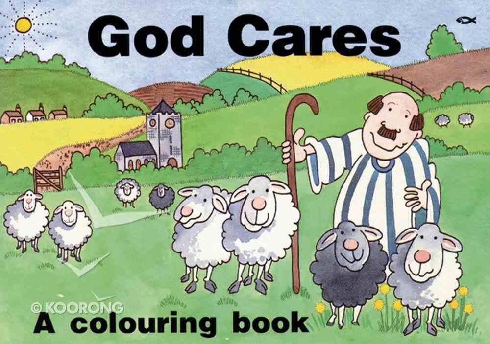Colouring Book: God Cares Paperback