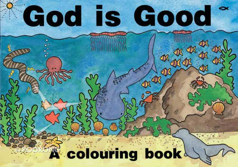 Colouring Book: God is Good Paperback