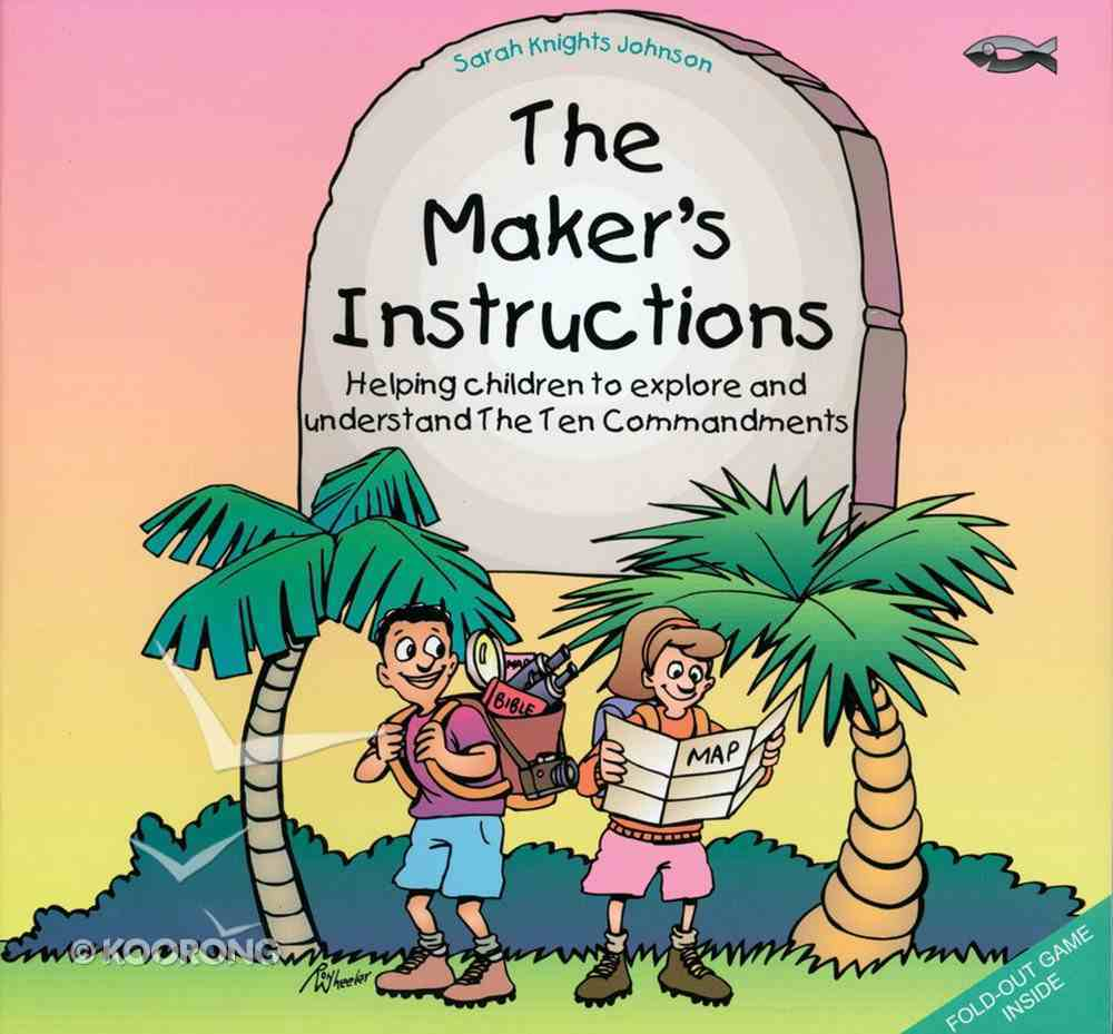 The Maker's Instructions Paperback