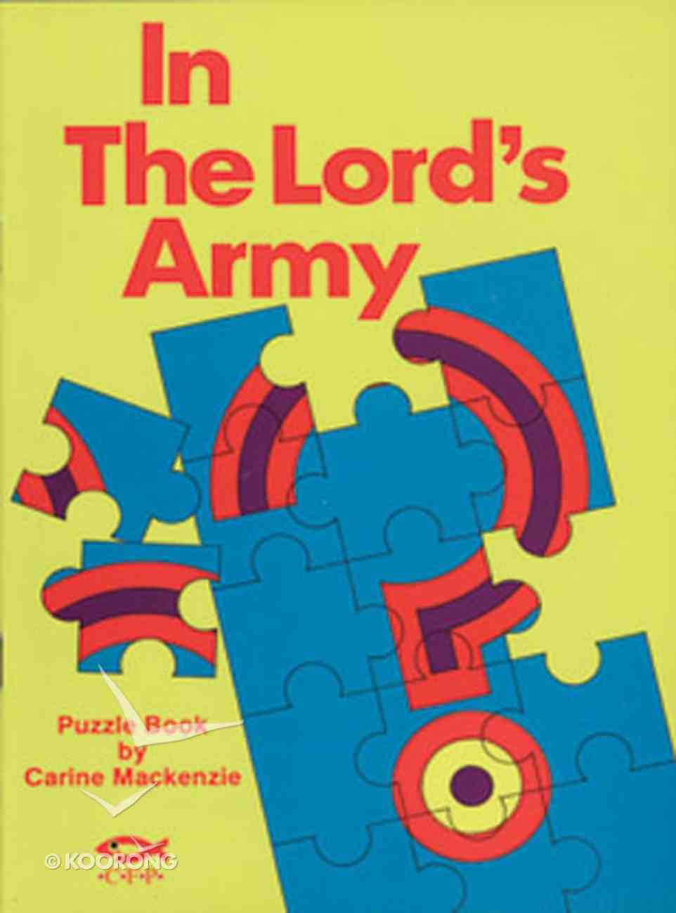 Puzzle Book: In the Lord's Army Paperback