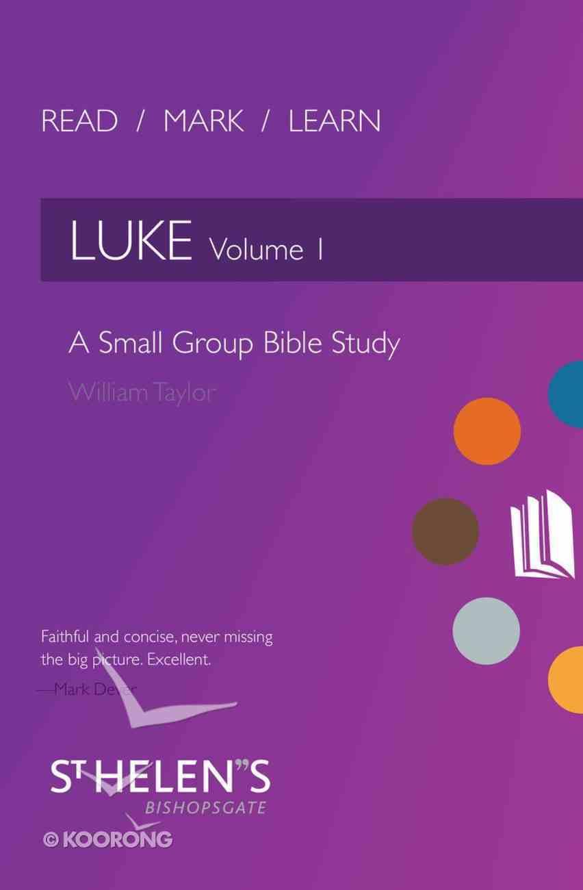 Luke (Volume 1) (Read Mark Learn Series) Paperback