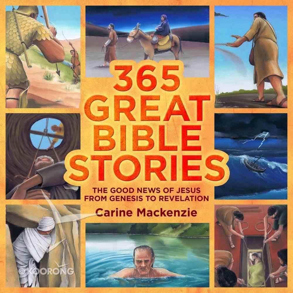 365 Great Bible Stories Hardback
