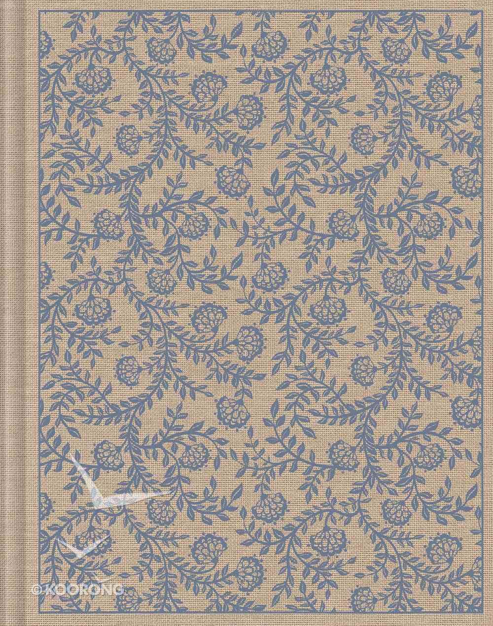 ESV Single Column Journaling Bible Flowers Hardback