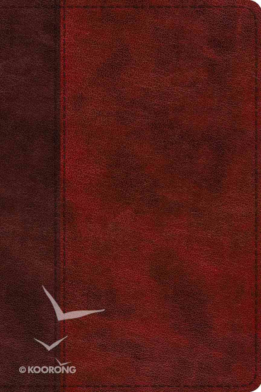 ESV Journaling New Testament Inductive Edition Burgundy/Red (Black Letter Edition) Imitation Leather