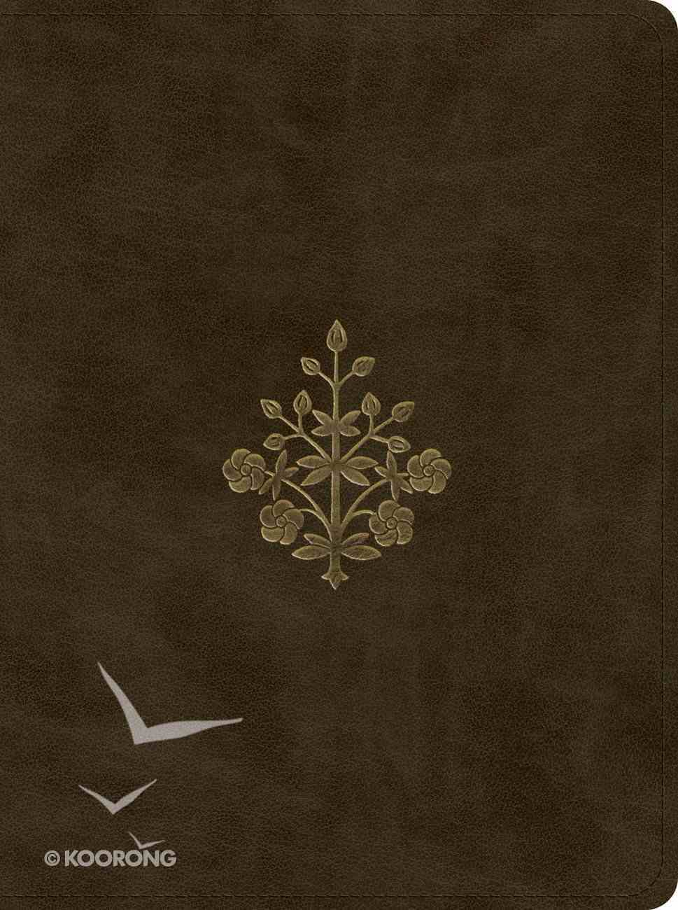 ESV Proverbs Daily Wisdom Olive Branch Design (Red Letter Edition) Imitation Leather