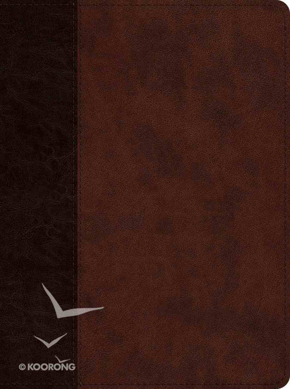 ESV Proverbs Daily Wisdom Brown/Walnut Timeless Design Imitation Leather