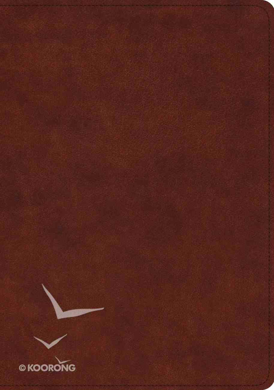 ESV Study Bible Chestnut (Black Letter Edition) Imitation Leather