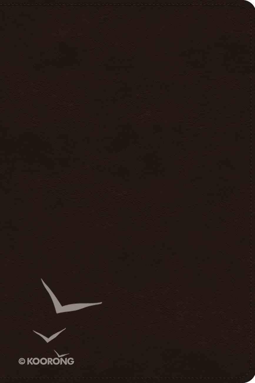 ESV Gospel Transformation Study Bible Deep Brown (Black Letter Edition) Imitation Leather