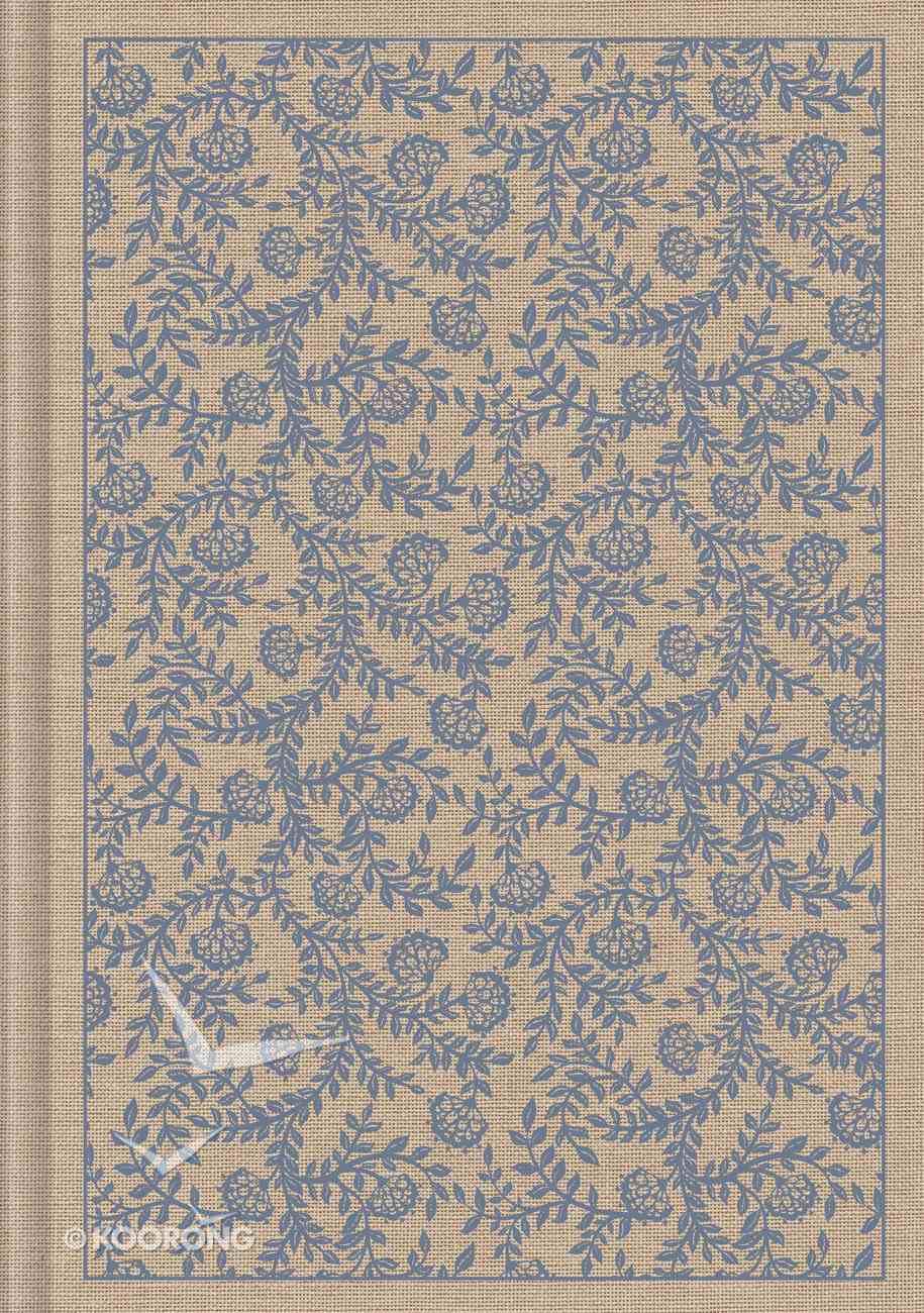 ESV Single Column Journaling Bible Large Print Flowers (Black Letter Edition) Hardback
