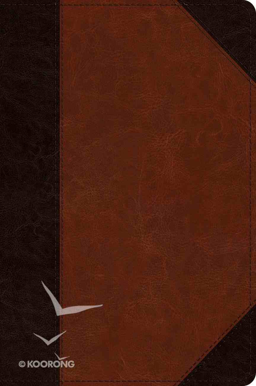 ESV Journaling New Testament Inductive Edition Brown/Cordovan Portfolio Design (Black Letter Edition) Imitation Leather