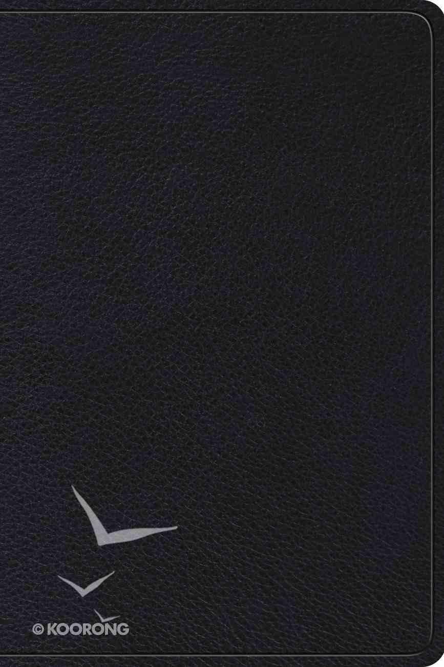 ESV Gospel Transformation Study Bible Black (Black Letter Edition) Genuine Leather
