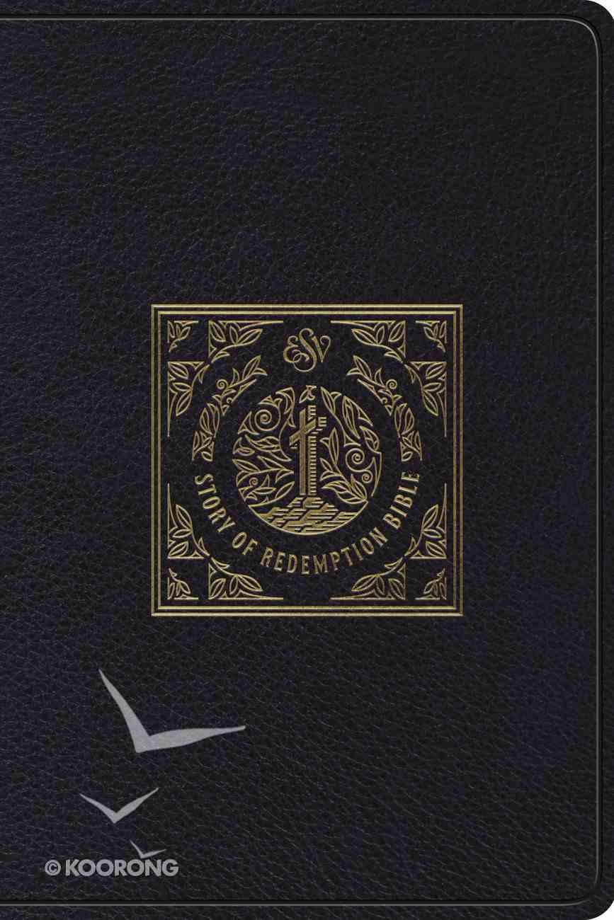 ESV Story of Redemption Bible: A Journey Through the Unfolding Promises of God Black Genuine Leather