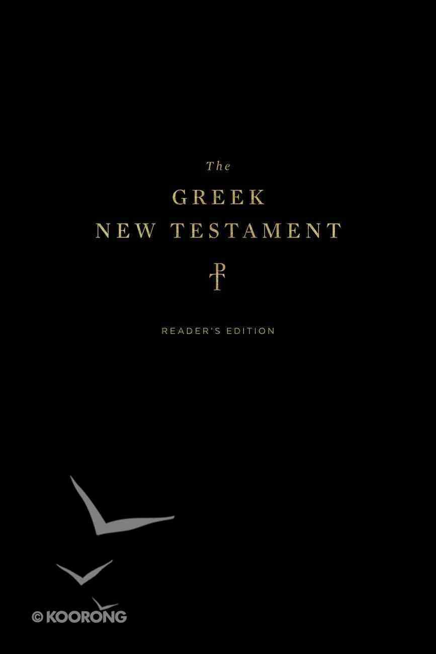Greek New Testament Reader's Edition Hardback