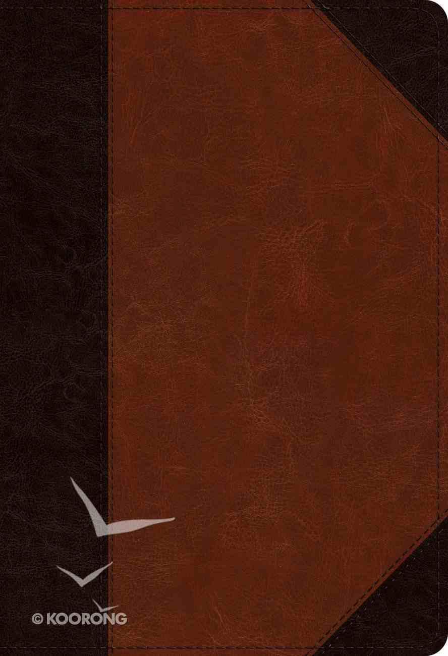 ESV Student Study Bible Brown/Cordovan Portfolio Design (Black Letter Edition) Imitation Leather