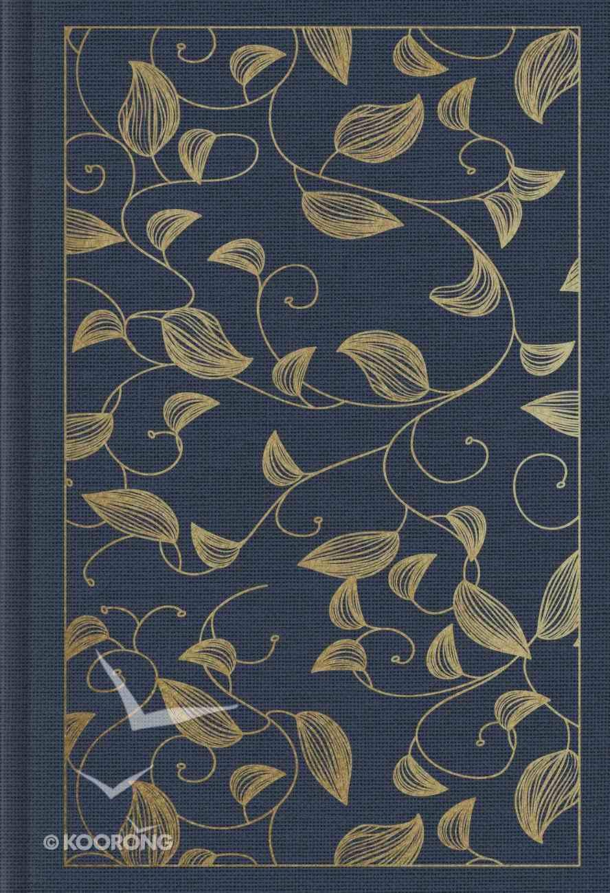 ESV Student Study Bible Navy Vine Design (Black Letter Edition) Hardback