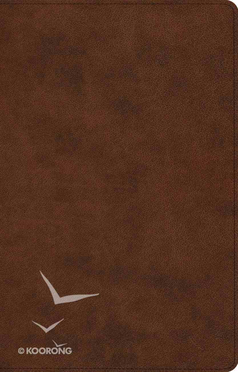 ESV Prayer Bible Brown (Black Letter Edition) Imitation Leather