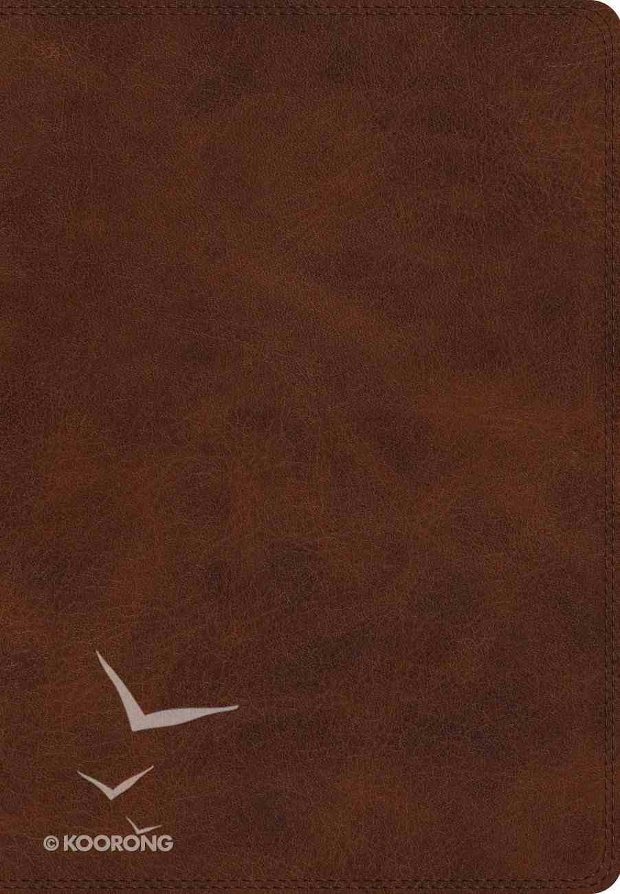 ESV Giant Print Bible Deep Brown (Black Letter Edition) Imitation Leather