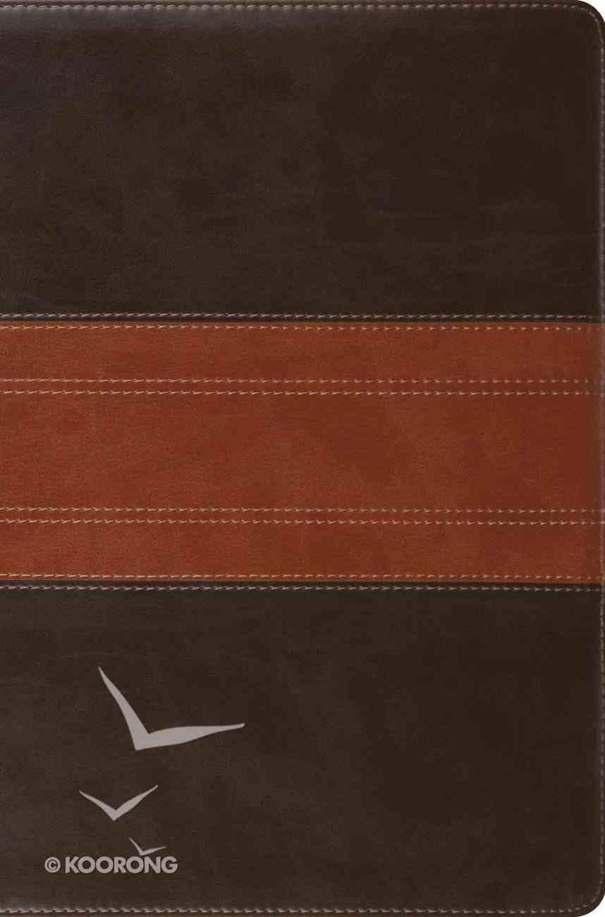 ESV Compact Bible Forest/Tan Trail Design Imitation Leather
