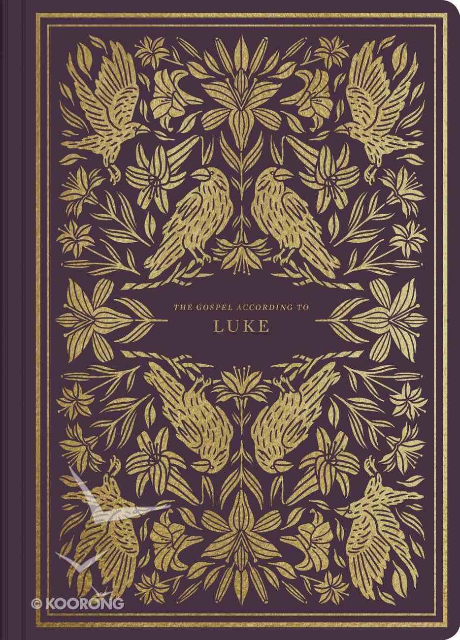 ESV Illuminated Scripture Journal Luke (Black Letter Edition) Paperback