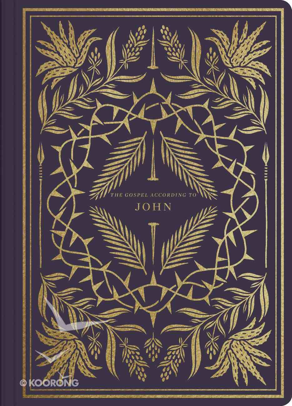 ESV Illuminated Scripture Journal John (Black Letter Edition) Paperback