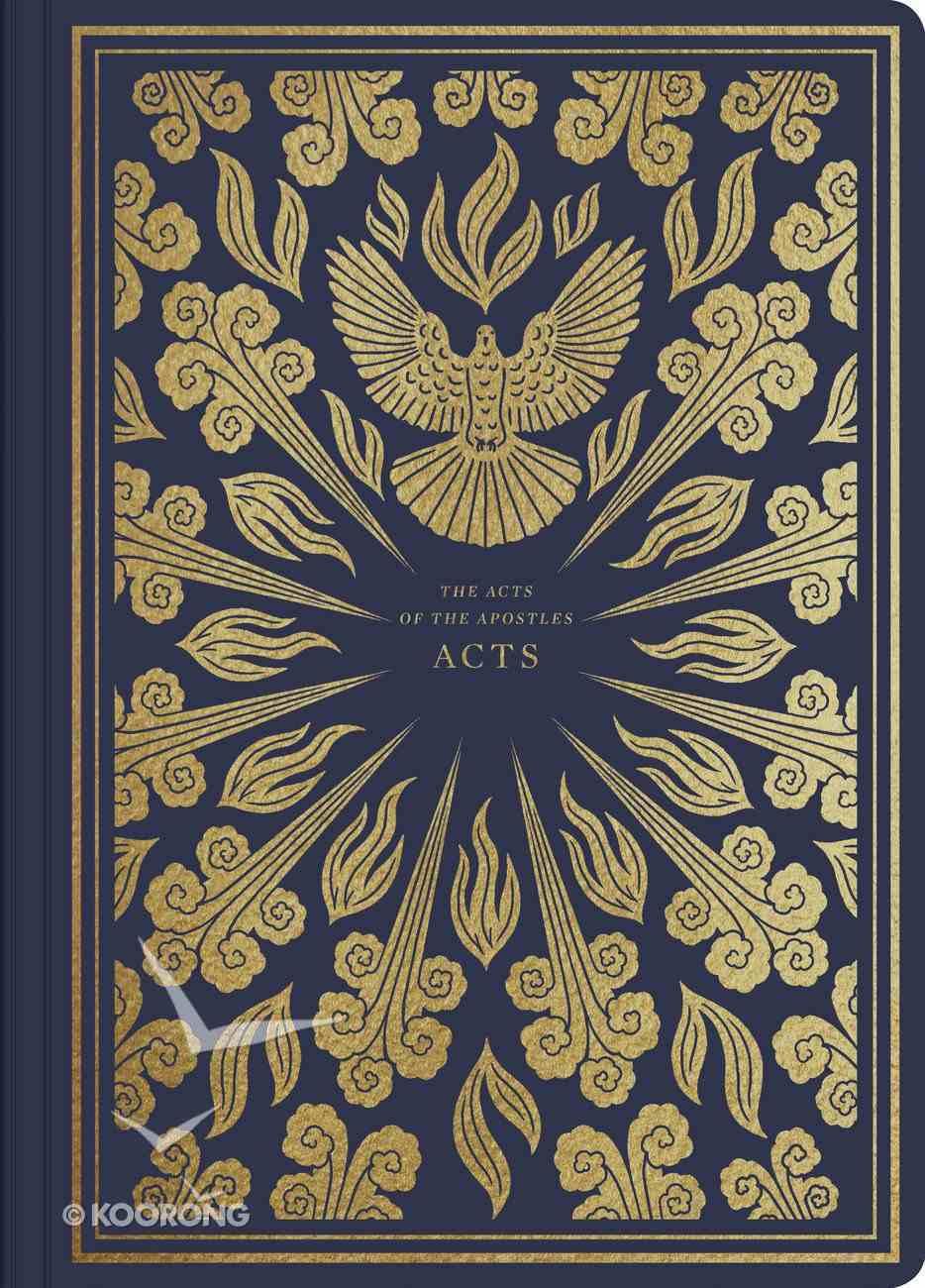 ESV Illuminated Scripture Journal Acts (Black Letter Edition) Paperback