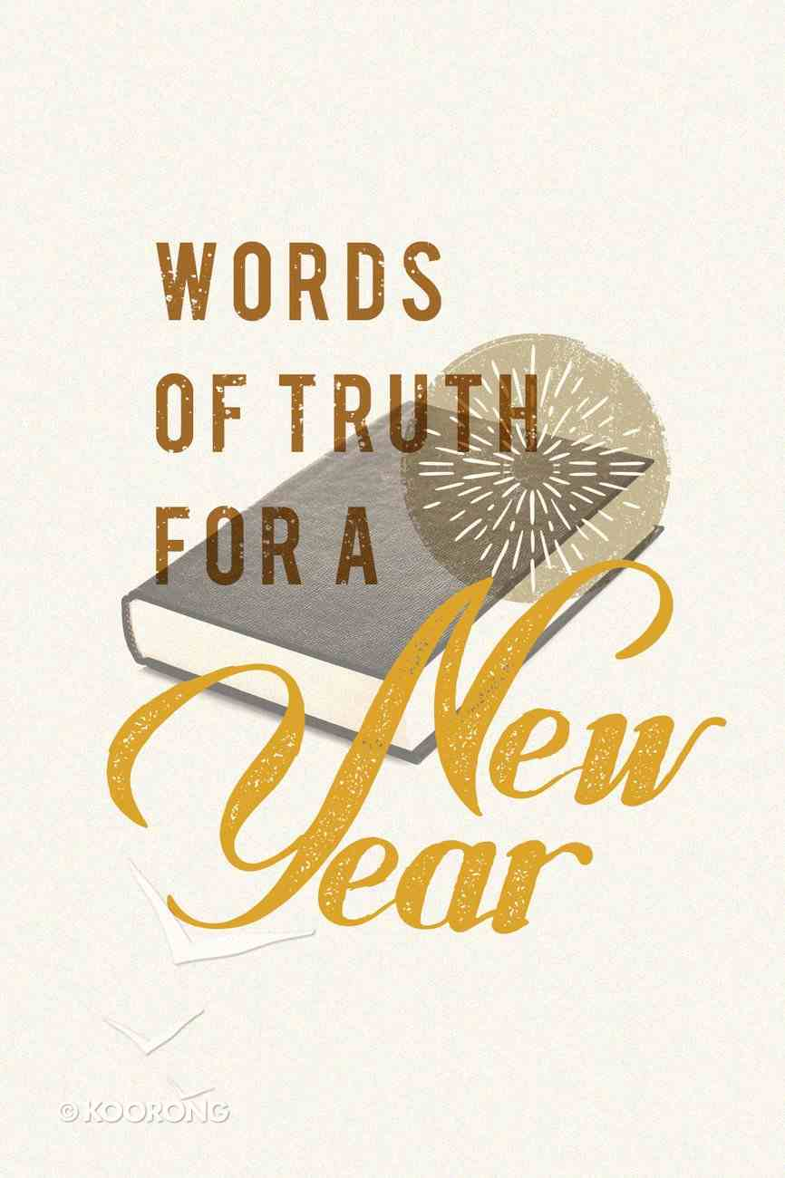 Words of Truth For a New Year (25 Pack) Booklet