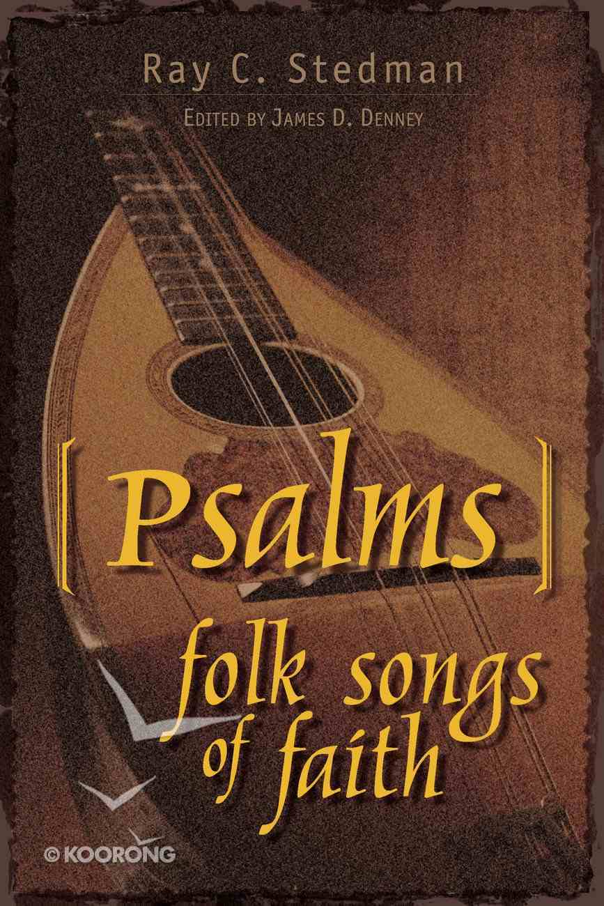 Psalms: Folk Songs of Faith Paperback