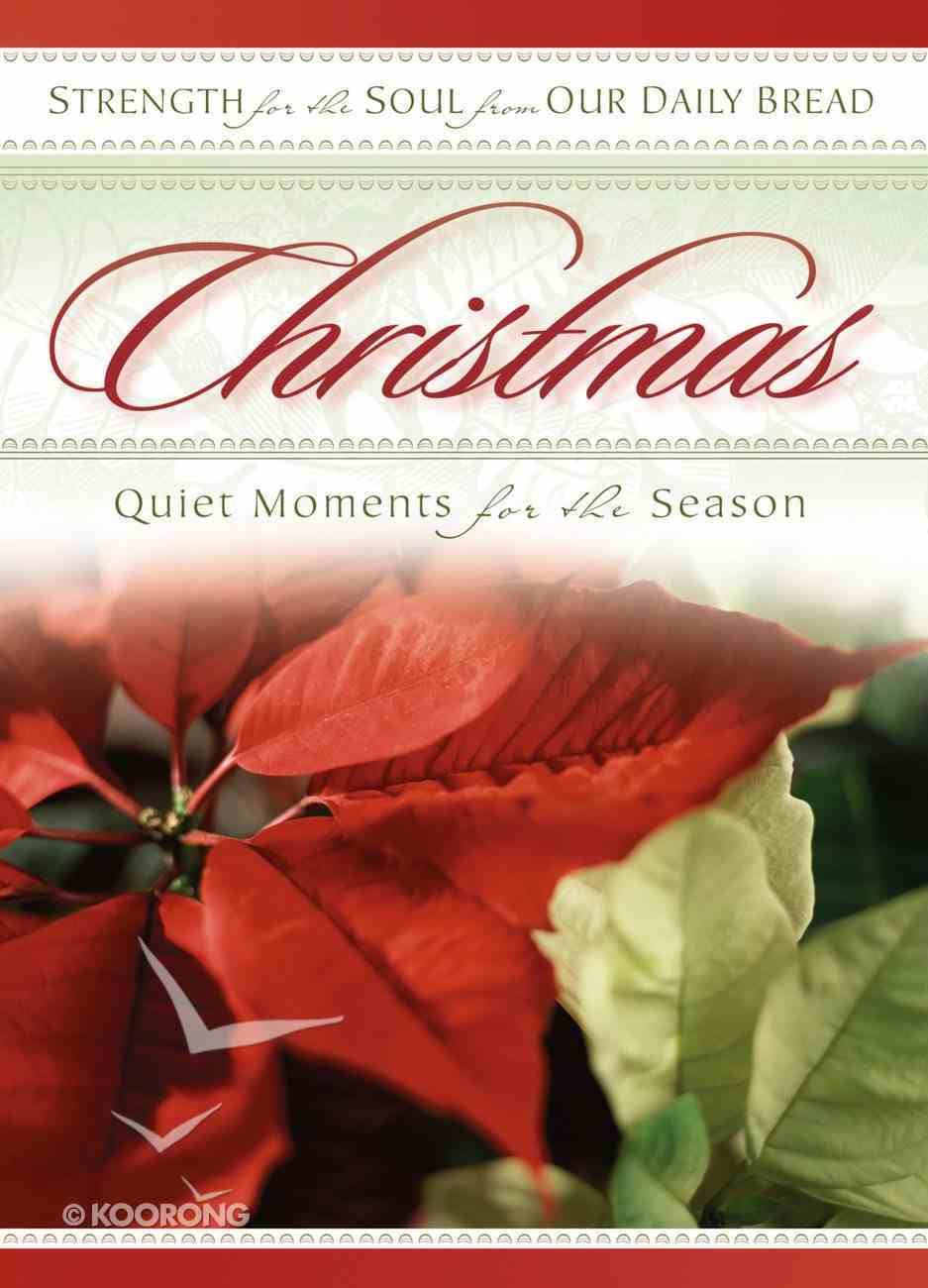 Christmas Strength For the Soul Paperback
