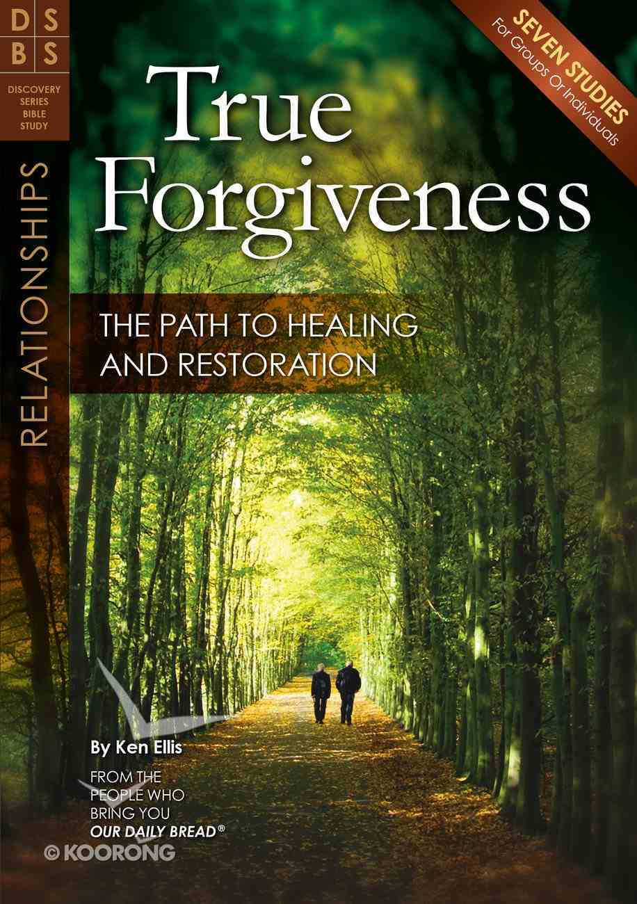 True Forgiveness (Discovery Series Bible Study) Paperback