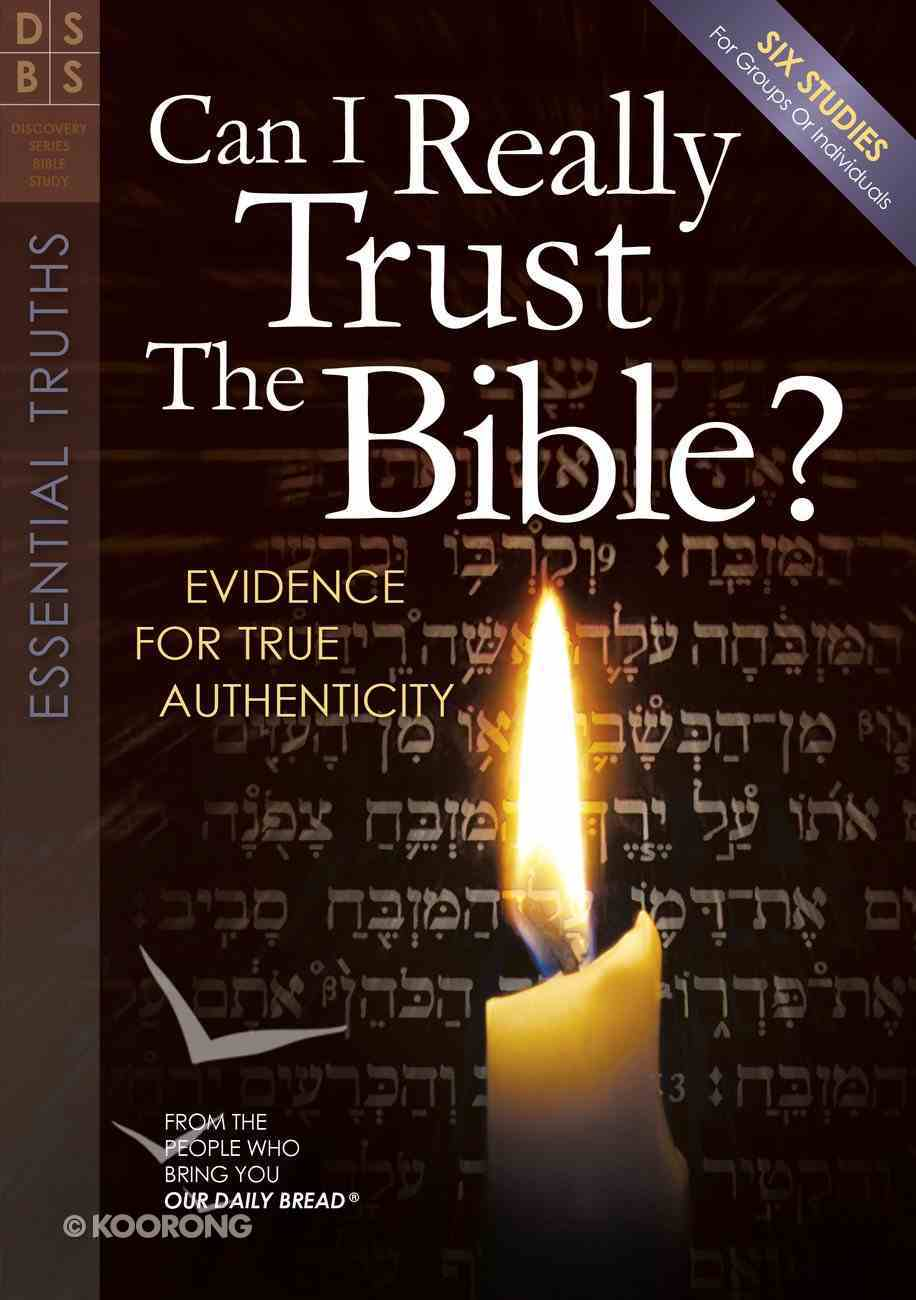Can I Really Trust the Bible (Discovery Series Bible Study) Paperback