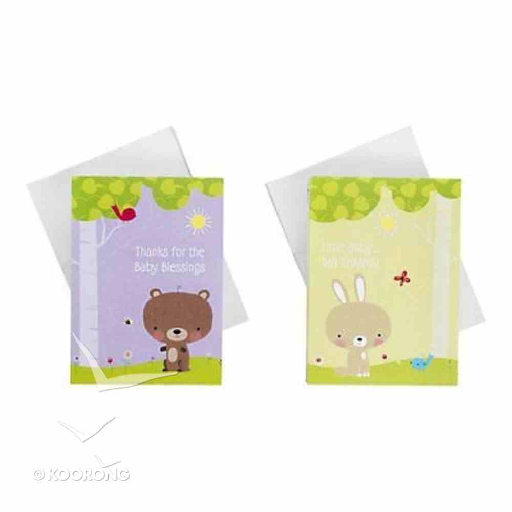 Note Cards Thank You: Baby Blessings (50 Pack) Stationery
