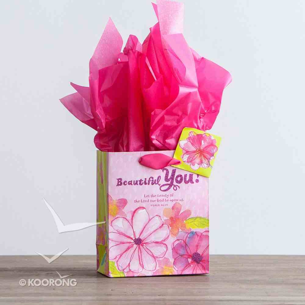 Gift Bag Small: Beautiful You Birthday (Incl Two Sheets Tissue Paper & Gift Tag) Stationery