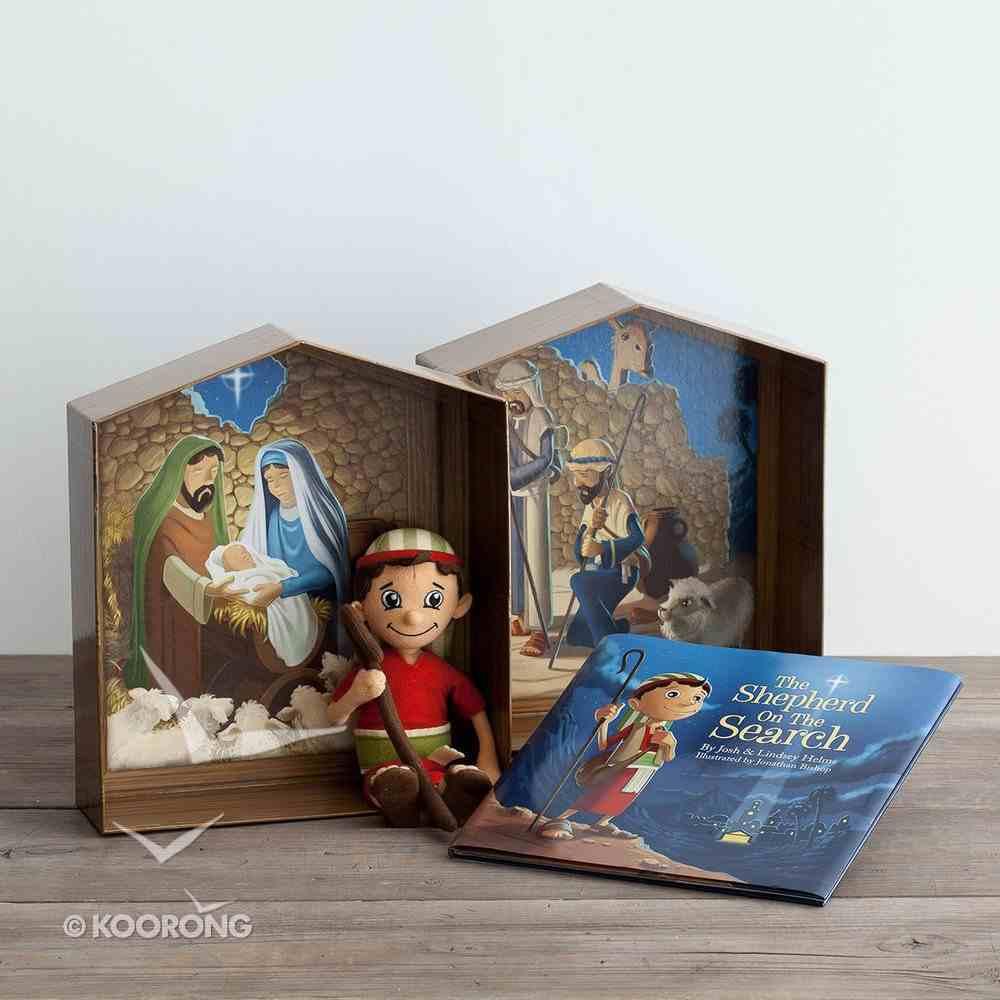 Shepherd on the Search - Advent Activity Set (Book + Plush Shepherd) Box