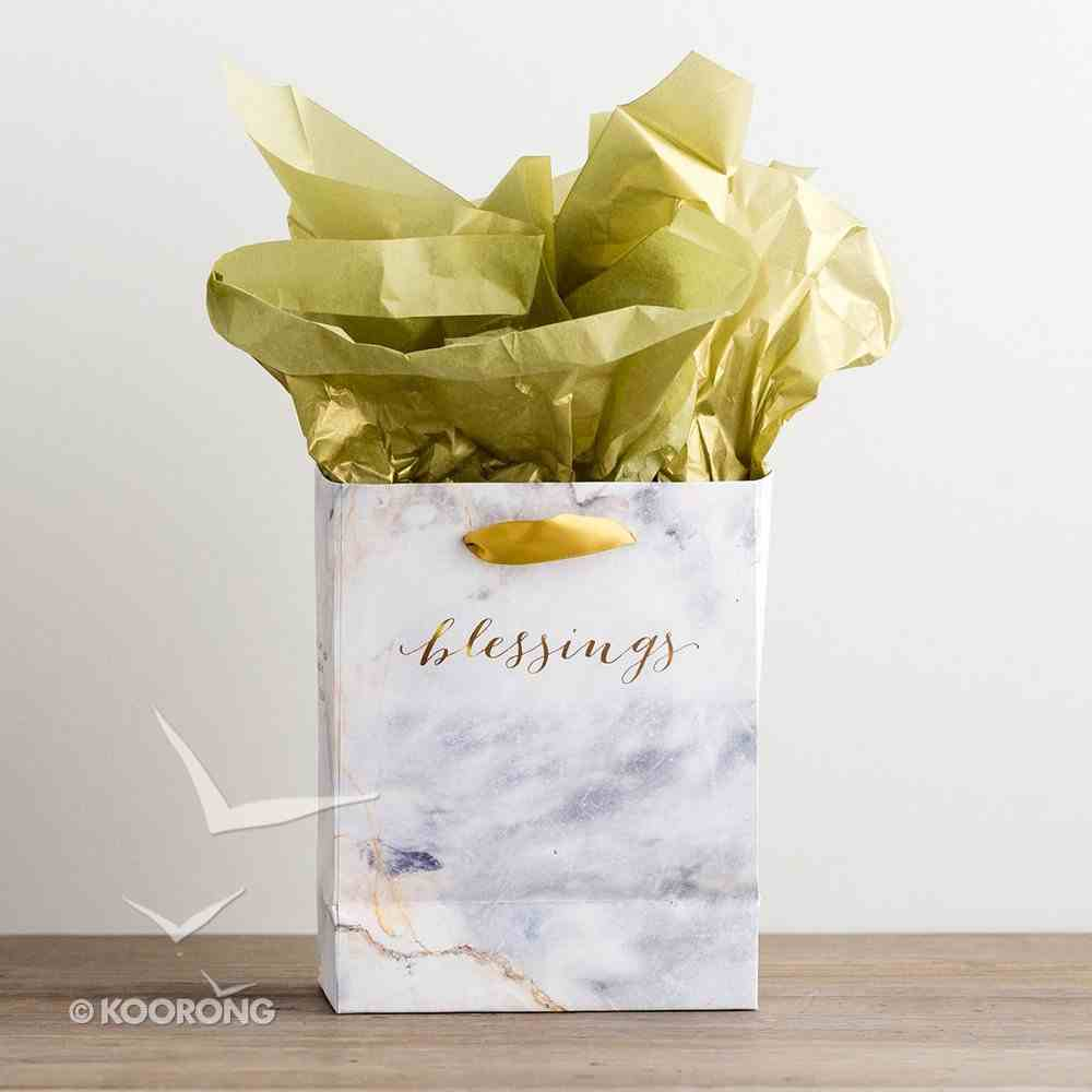 Gift Bag Small: Treasured Blessings, (Incl Two Sheets Tissue Paper) Stationery