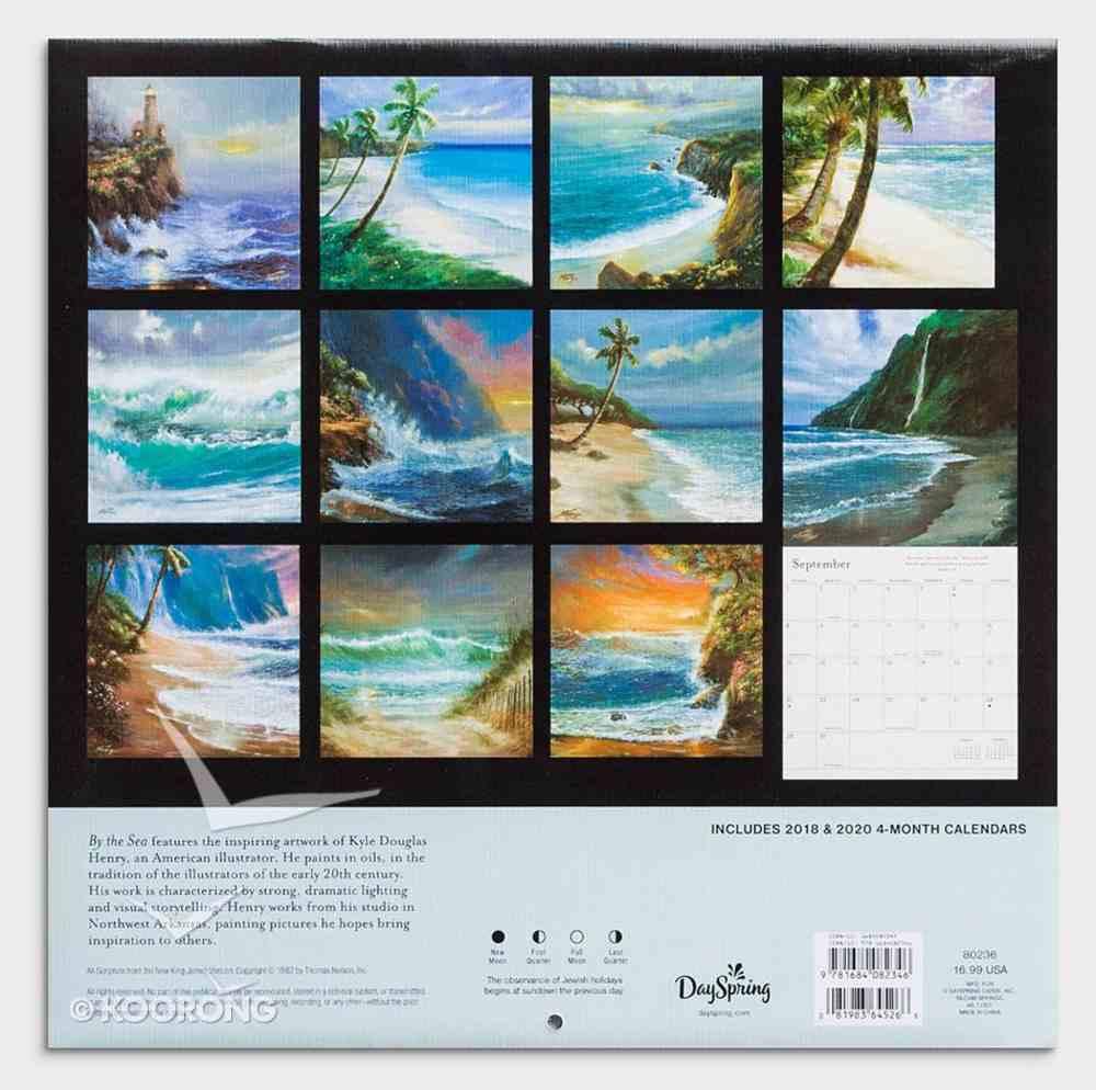 2019 Wall Calendar: By the Sea Calendar