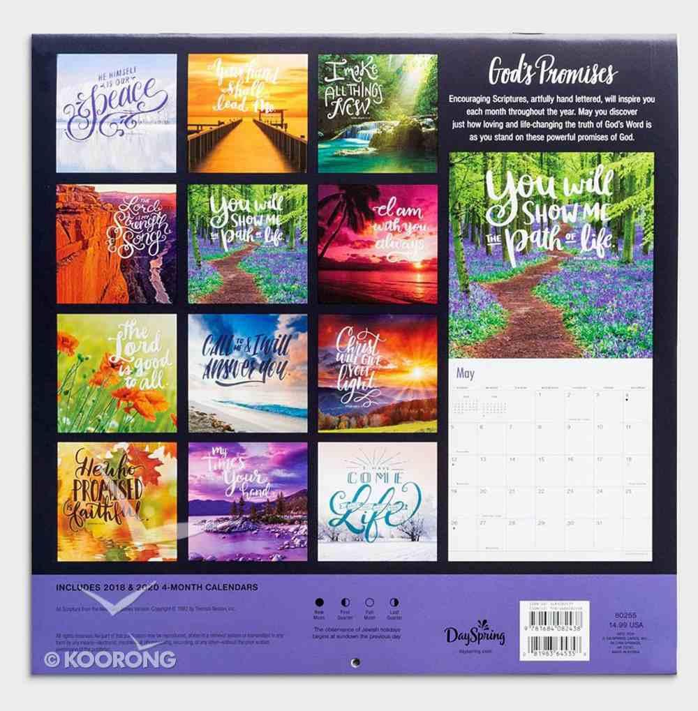 2019 Wall Calendar: God's Promises Calendar