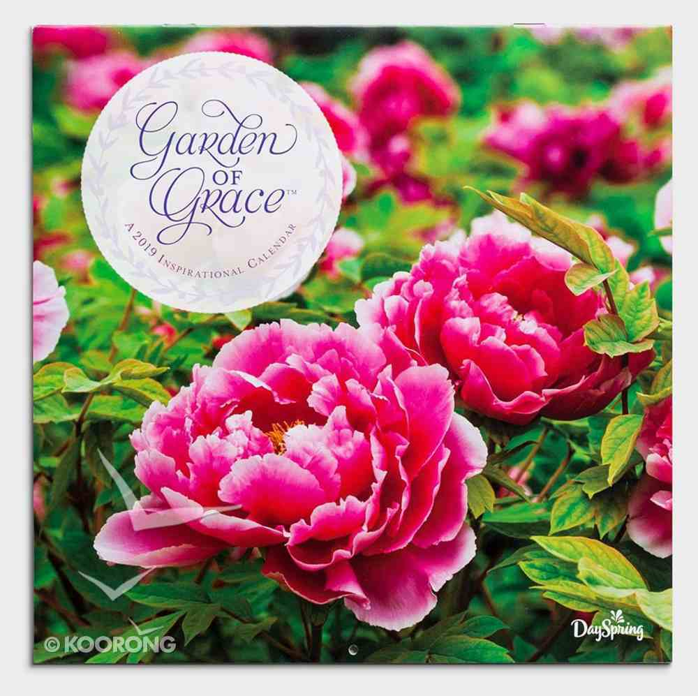 2019 Wall Calendar: Garden of Grace Calendar