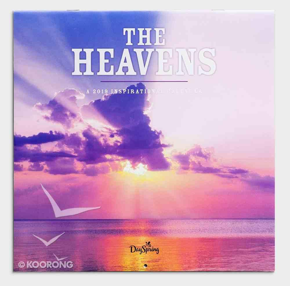2019 Wall Calendar: The Heavens Calendar