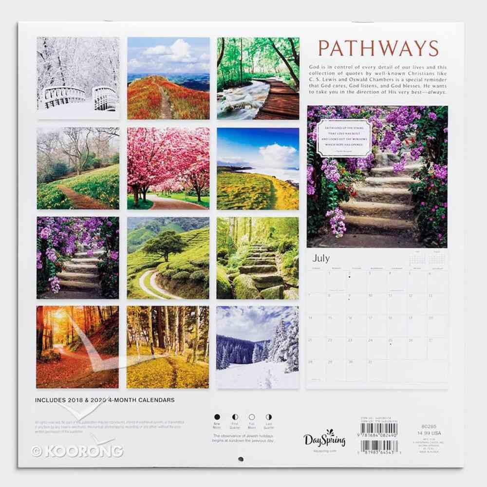 2019 Wall Calendar: Pathways Calendar