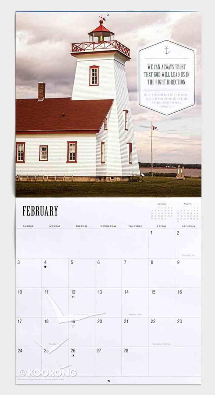 2019 Wall Calendar: Keepers of the Light Calendar