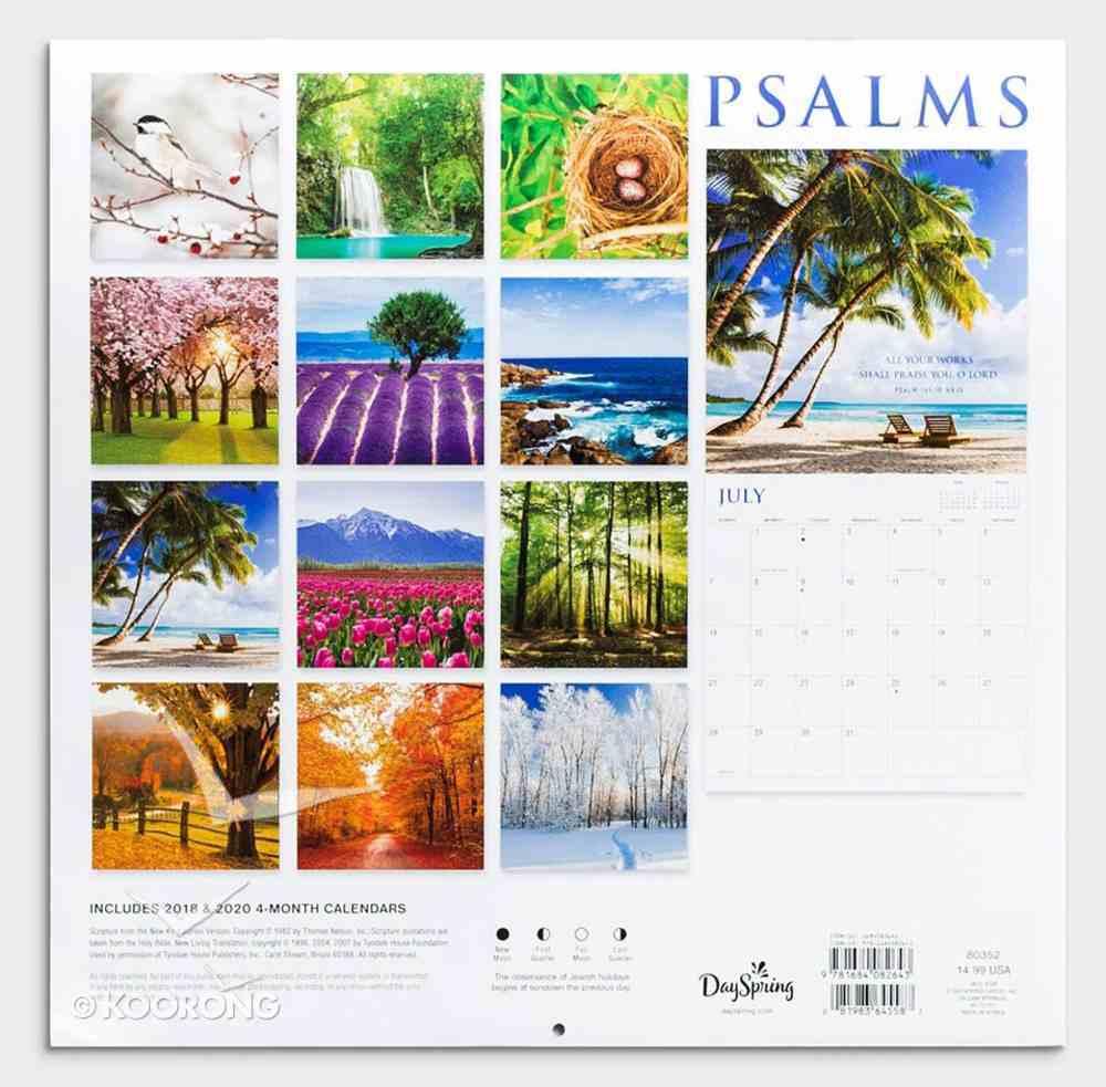 2019 Wall Calendar: Psalms - Field Calendar