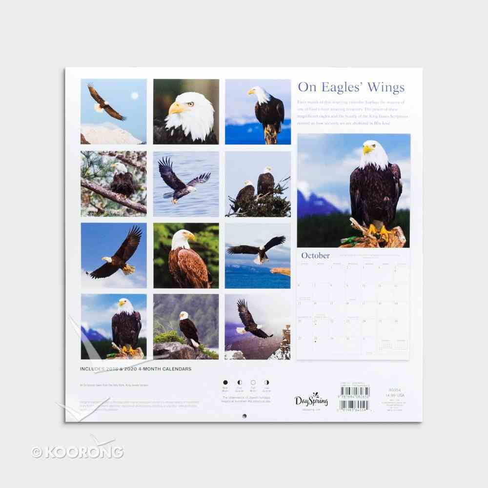 2019 Wall Calendar: On Eagles' Wings Calendar