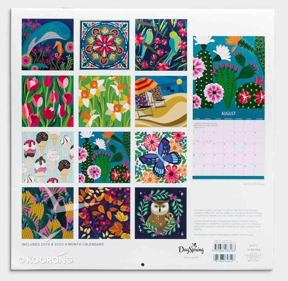 2019 Wall Calendar: See the Beauty Calendar