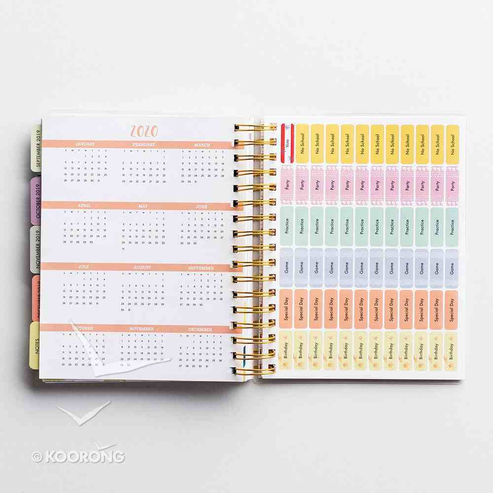 2019 18-Month Diary/Planner: God Always.... Spiral