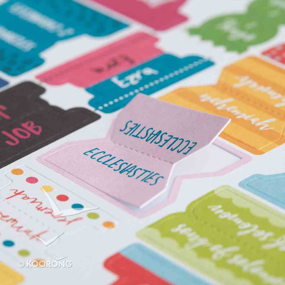 Ifsi: Colourful Bible Tabs, All Books of the Bible Stickers