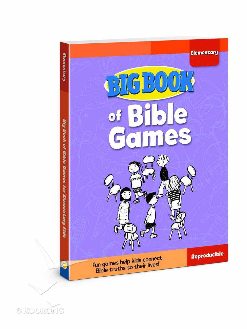 Big Book of Bible Games For Elementary Kids (Reproducible) Paperback