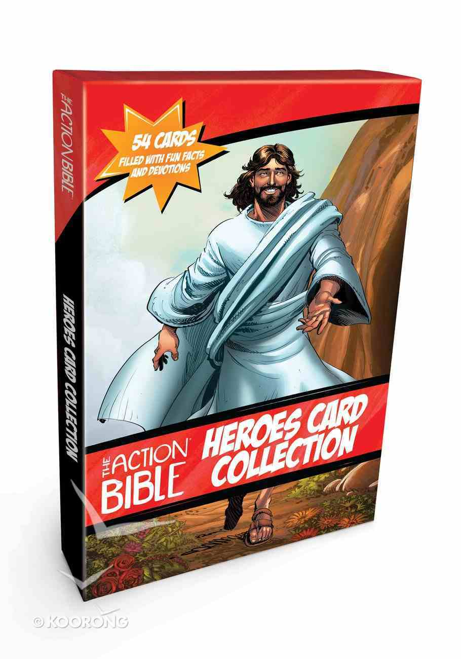 The Action Bible Heroes Card Collection: 54 Cards Filled With Devotions and Fun Facts Cards