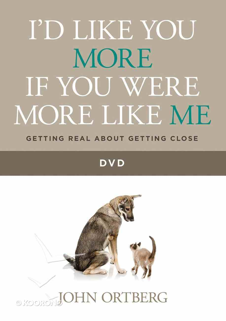 I'd Like You More If You Were More Like Me DVD