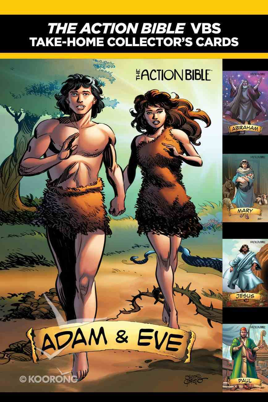 The Action Bible Take-Home Collector's Cards: Jesus--The First Action Hero Chart/card