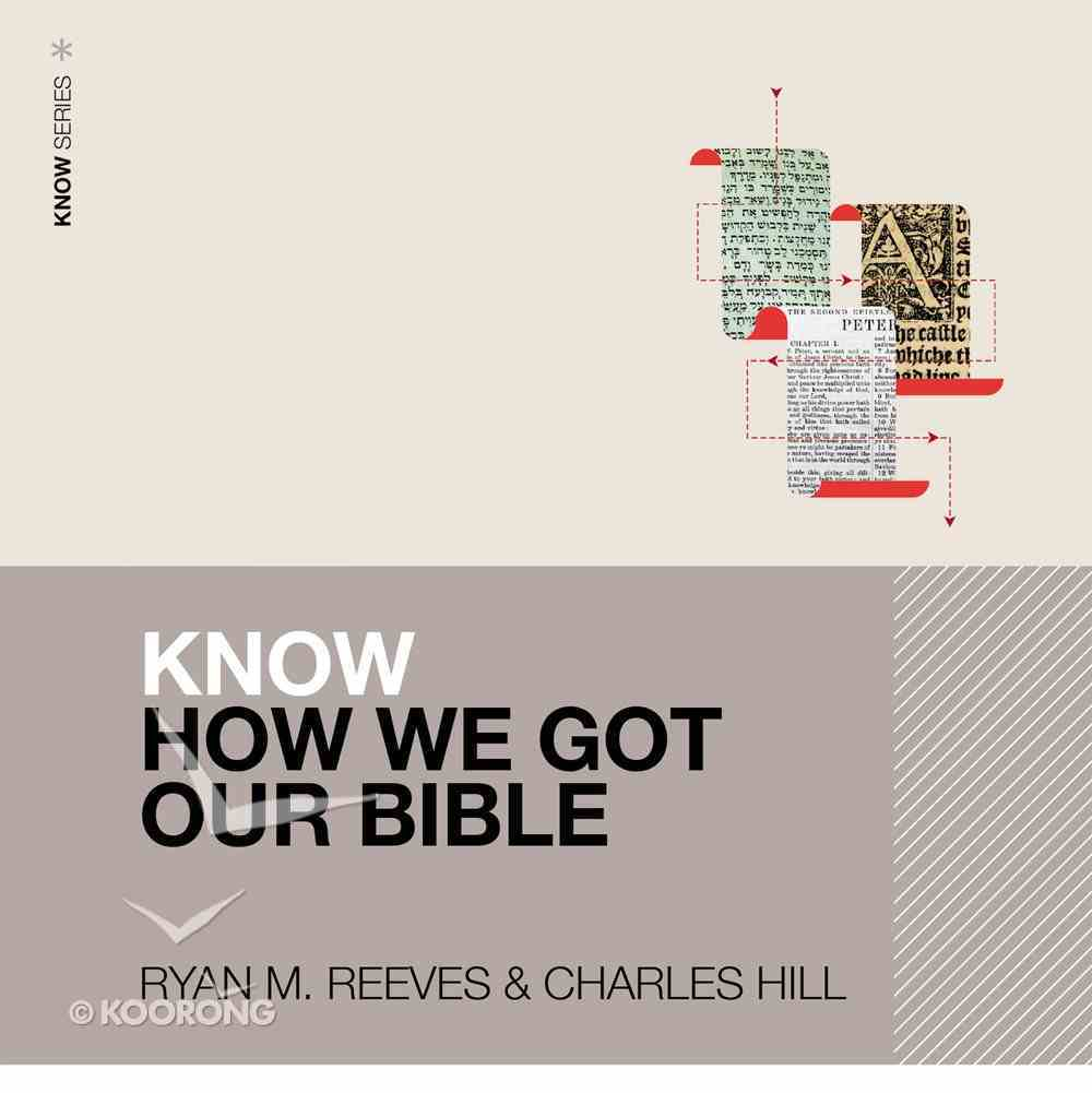 Know How We Got Our Bible eAudio Book